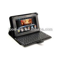 Leather case mini bluetooth keyboard for google nexus 4