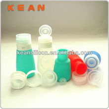 New style 55ml&85ml Squeezable Portable Leak Proof Travel Bottles Food Grade Silicon/Boots Travel Bottles France Travel Kit