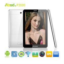 """Timing Sales!! 2G Dual SIM Card Slot MTK6515 Wifi GPS Bluetooth FM mini dual sim phone 9"""" Tab P2000"""