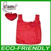 Folding Shopping Bag/heart shape foldable bag/Foldable Bag