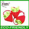 Folding Shopping Bag/Foldable Bag/strawberry foldable bag
