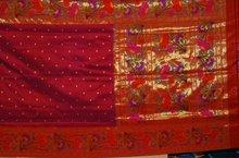 Jeveri lotus paithani sarees