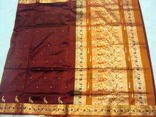 Semi paithani 4 paithani sarees