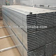 gi square pipe/galvanized rectangular tube