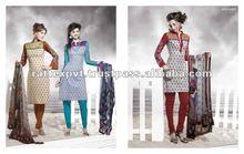 Short Salwar Kameez Designer printed 2012