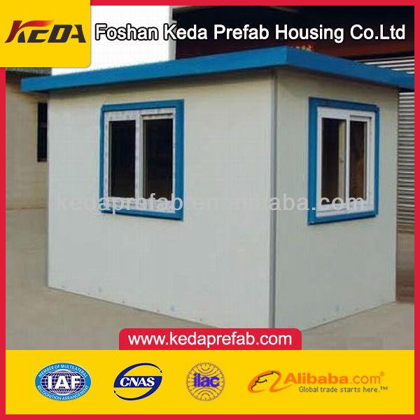 High Quality Portable Sandwich Panel Sentry Box/prefabricated sentry box