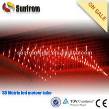 2013 new arrive 3D led meteor tube dj light system