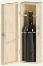 Wooden Wine Box for 1 bottles