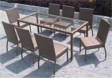 Poly rattan dining set- hot design 2012