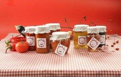 Rose Jam, Rosehip marmalade, Peach Compote