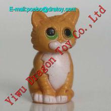 plastic figurines ,mini cat