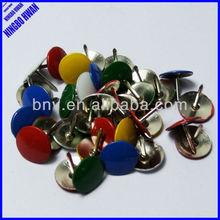 Quality colored plastic decolative push pin,thumb tacks,thumb pins