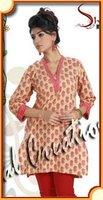 Printed Cotton Kurta for women