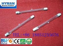 J78 r7s tungstênio iodo lâmpada 120v 100w com ce, tipo j lâmpada de halogéneo tubular