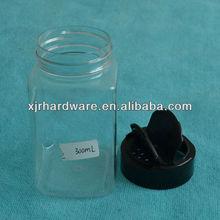 herb plastic jar