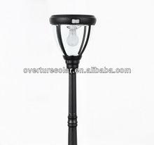 4w 1.72m, china new innovative product.new design JY-0008A-4W-S2-31W-PIR LED solar garden light, with PIR, CE