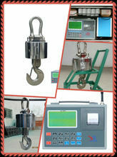 50 t crane electronic scales, electronic scales 50 t crane, 50 t crane scales used on board