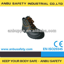 CE certificate black 2013 hot sale liberty metal toe safety working shoes