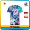 Custom dye sublimation t-shirt womens fashion clothing