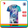 Custom dye sublimation t-shirt womens fashion clothing