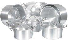 Aluminium pans and pots