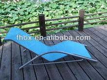 Outdoor Teslin Garden Furniture V-font Lounger