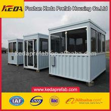 cheap prefabricated house,portable guard room,portable guard
