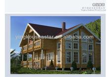 Euro standard wooden house