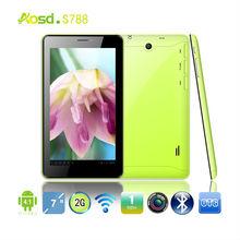 2013 kids tablet pc-wifi mini pad 7inch allwinner a13 gsm phone call tablet, dual sim card
