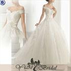 JJ3190 Off Shoulder Lace Wedding Dresses kebaya modern