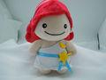 sorriso bonito boneca de pelúcia para animais