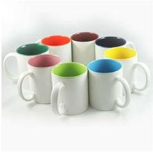 wholesale 11oz porcelain ceramic white coffee mug for sublimation / blank ceramic mug for magic thermal transfer