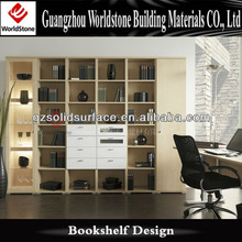 modern book shelf for study room furniture design