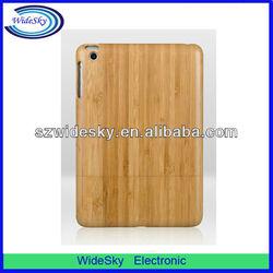 Enviromental Nature Wooden Bamboo Hard case for Ipad Mini