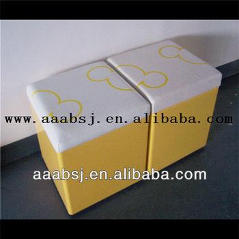 XJ-SS001 Clothing store furniture display rack shoe bench