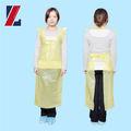 Avental retardador de chama, pvc avental descartável, proteção arpons