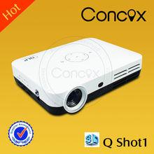 Concox mini pico projector Q Shot1 with USB Micro SD Play