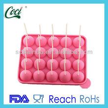 food grade non stick silicone lolly model
