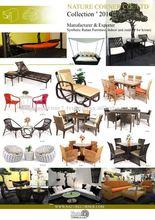 Handmade Outdoor Wicker Synthetic Rattan Furniture