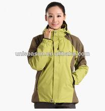 Waterproof 3 in 1 clothing woman