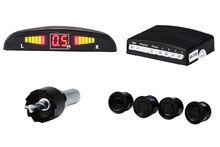 4 Radar Sensors LED Display RF Wire Car Parking Sensor