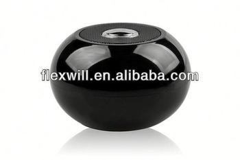 Ball shape CE ROHS Certificate bluetooth speaker suction cups
