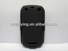 hot sell for blackberry bb9350,9360,9370 light up phone case with swivel belt clip