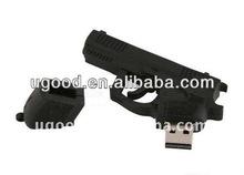 Pvc usb falsh drive gun Wholesale for gifts and promation,OEM pvc flash drive usb 2gb 4gb 8gb 16gb 32gb 64gb