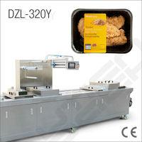 Chicken fillet in breadcrumbs packing machine