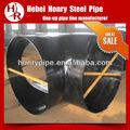 Acero al carbono de soldadura latrolet instalación de tuberías