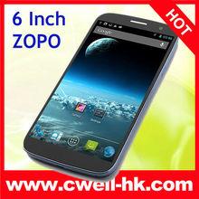6.0 Inch Coring Gorilla OGS FHD Screen MTK6589T 2GB RAM smart phone ZOPO 990