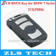 Original YH BM7S Key for BMW 7 Series 315LPMHZ Car Key Blanks