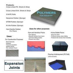 Rubber/Eva concrete expansion joint filler
