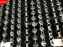Crystal bead curtain, decorative crystal bead curtain, bar and restaurant curtain,